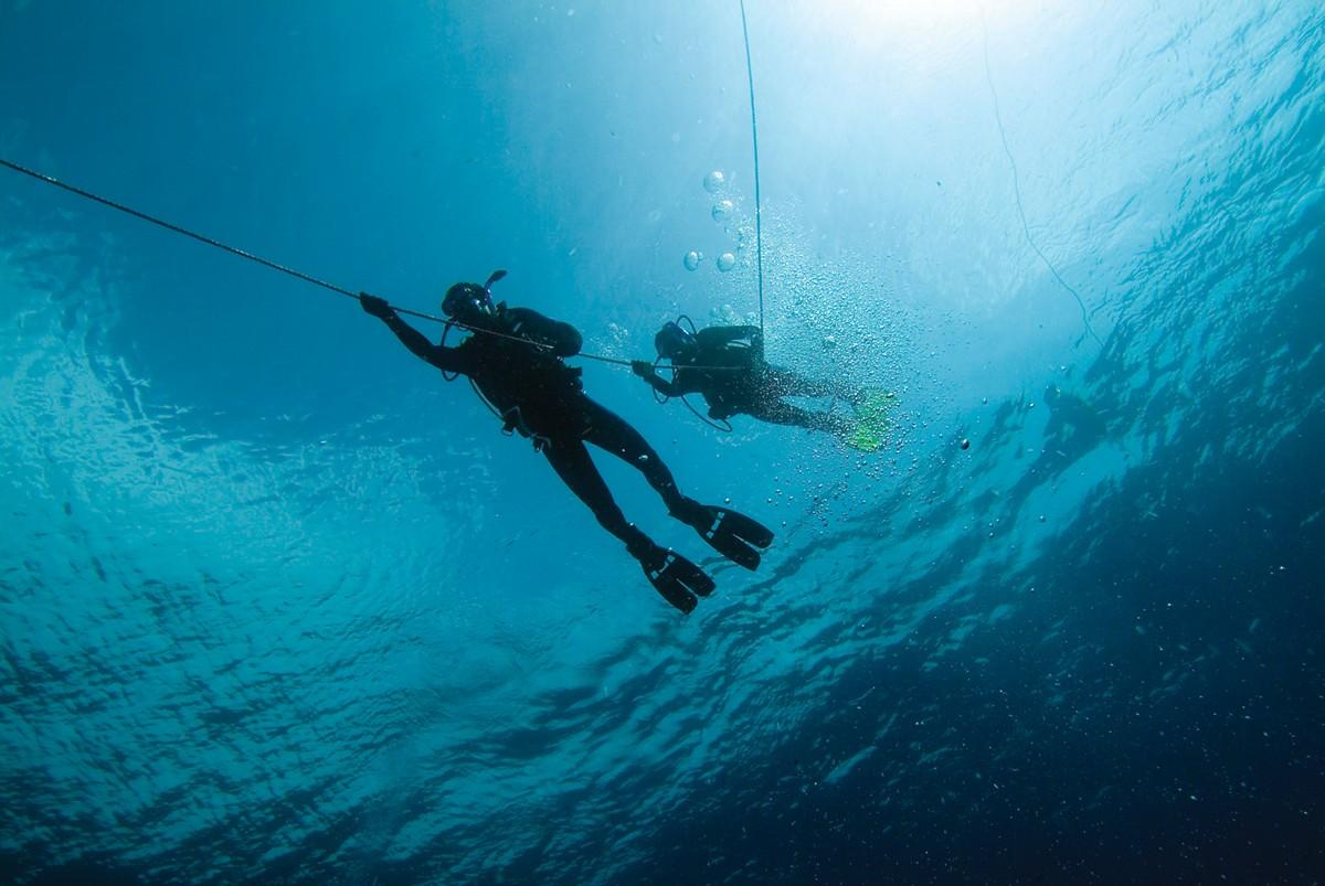 Iniciando o mergulho
